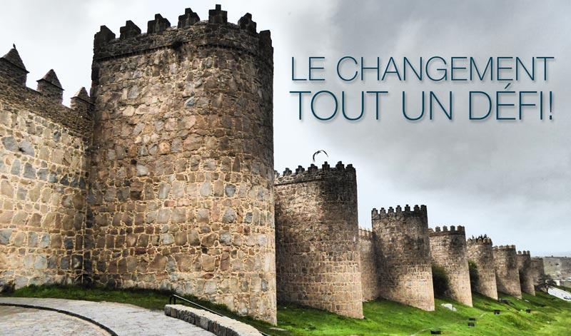 Le changement, tout un défi !
