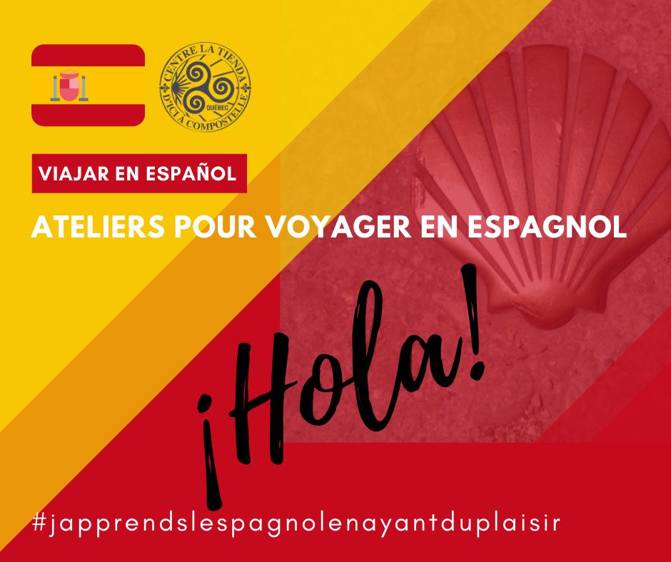 Ateliers pour voyager en espagnol sur couleurs d'Espagne