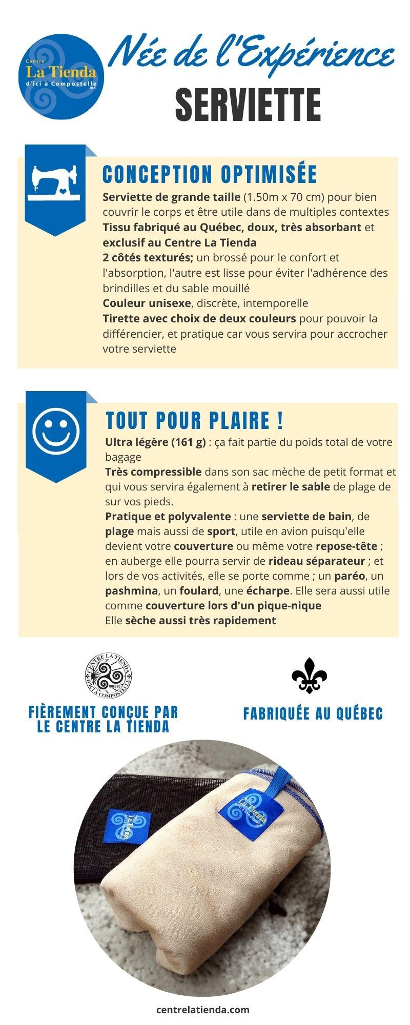 Serviette Tienda Quebec